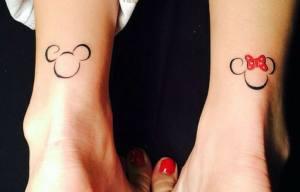 Tatuajes Disney Minimalistas