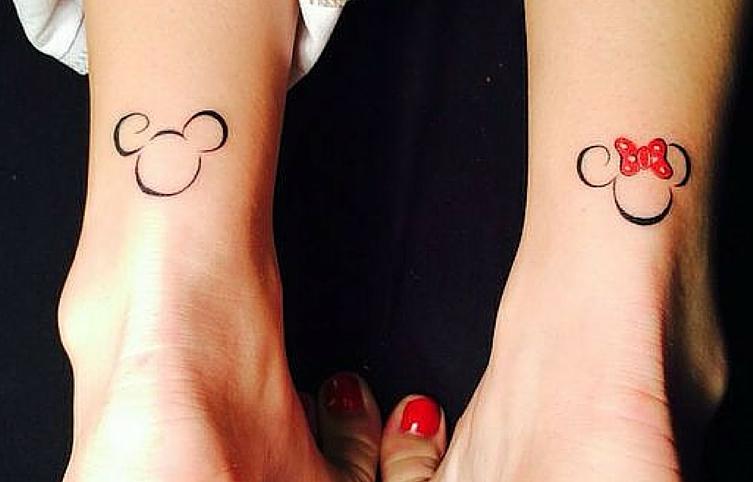 Ideas para Tatuajes Disney Minimalistas