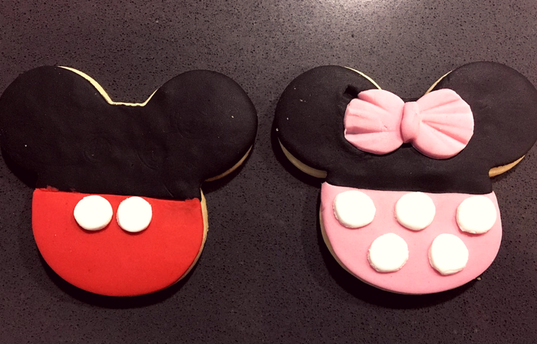 cookies mickey and minnie
