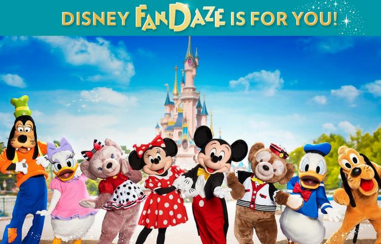 Conoce qué son los Eventos Disney FanDaze de Disneyland Paris