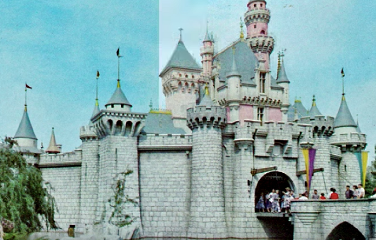Así era Disneyland en los años 50 & 60 y así es hoy
