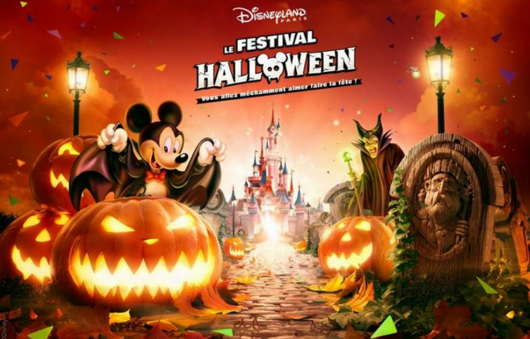 Celebra Halloween en Disneyland Paris y el cumple de Mickey Mouse