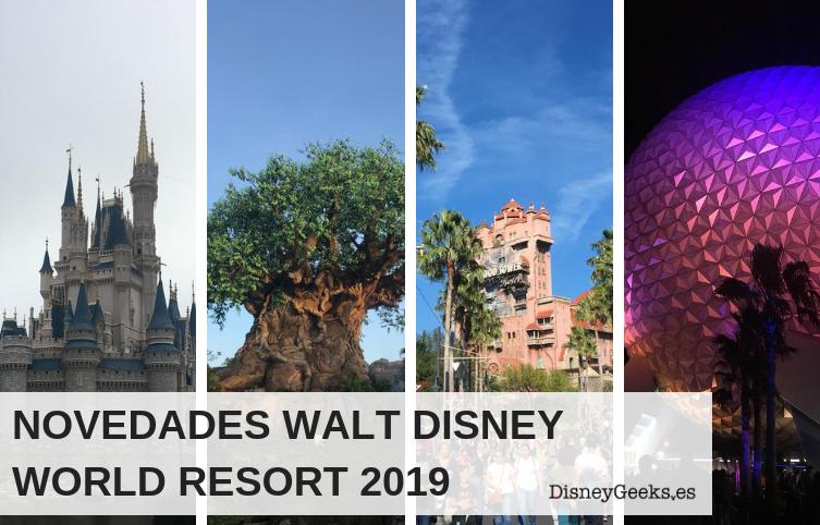 Walt Disney World 2019: todo lo que está por venir