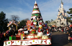 cabalgata navidad en disneyland paris