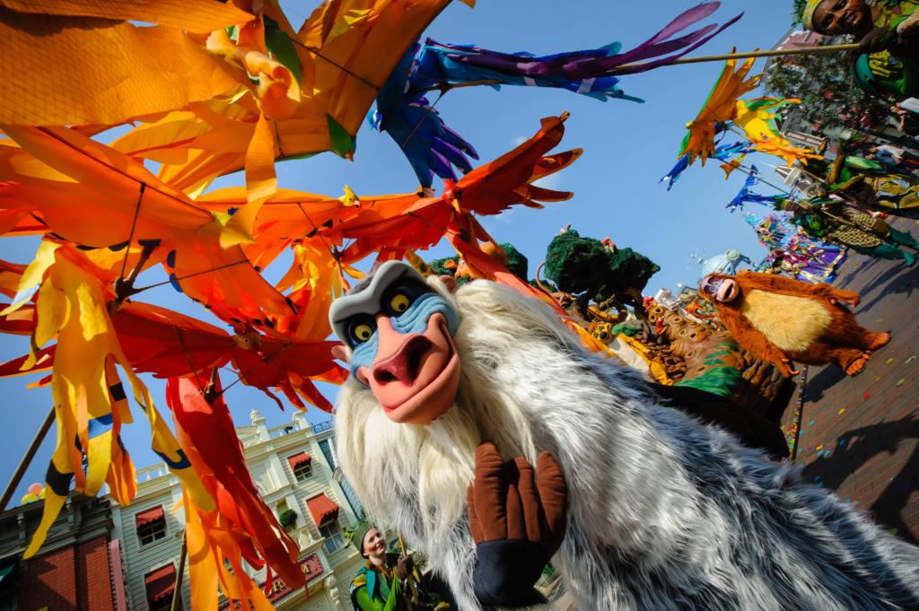 Festival del Rey Leon Disneyland Paris