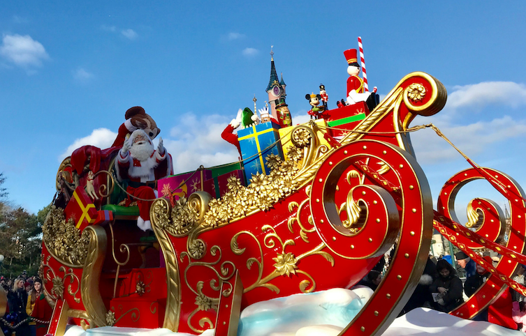 Disneyland París es una buena idea todo el año, pero en Navidades un poquito más