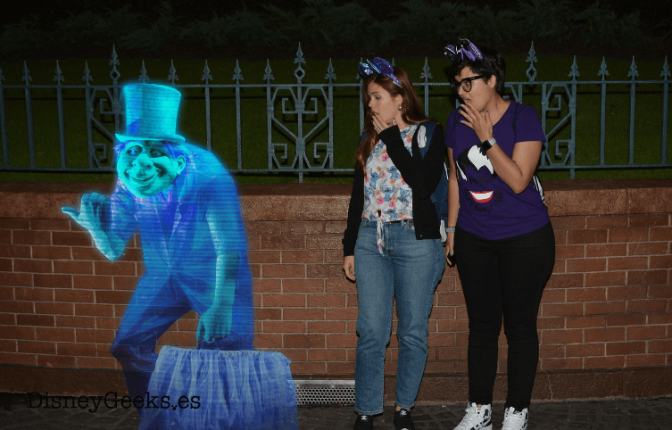 Photopass a la salida de The Haunted Mansion