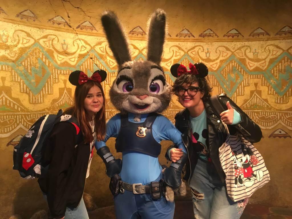 Conociendo a Juddy Hoop (Shanghai Disneyland 2017)