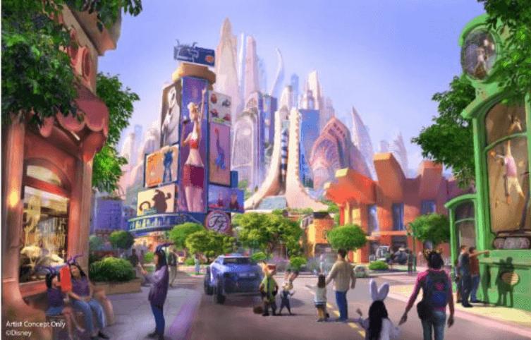 Nuevo área: Zootrópolis en Shanghai Disneyland