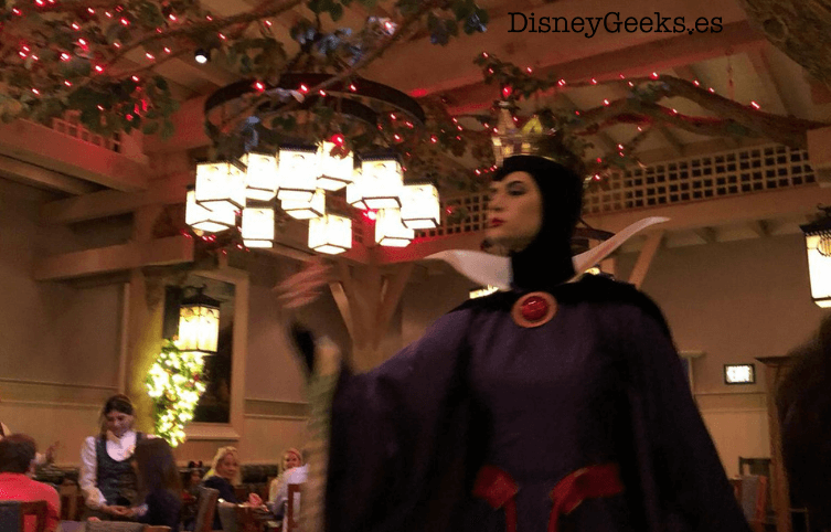 Storybook dining evil queen