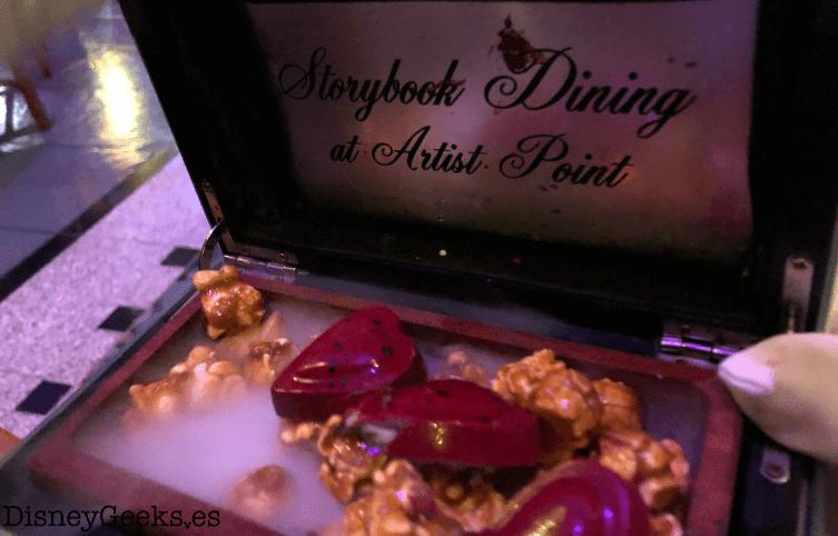 Storybook dining detalles