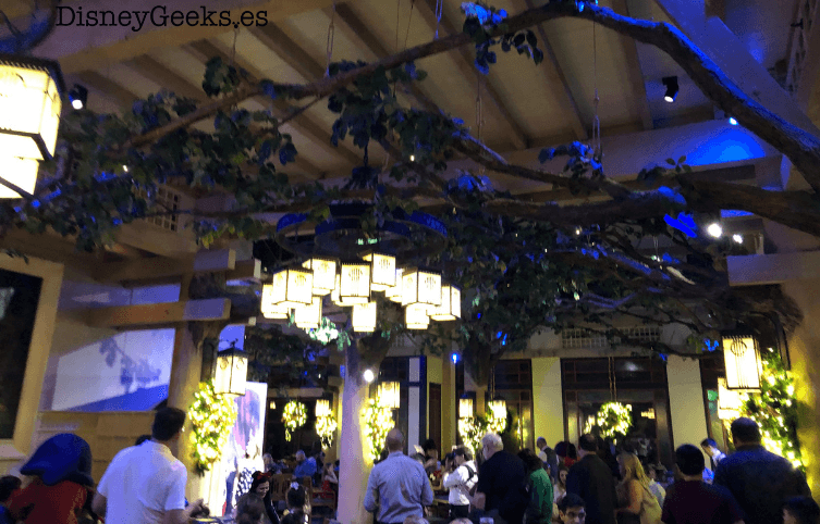 Storybook dining wilderness lodge