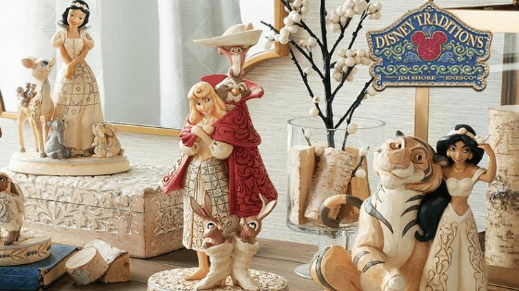 Figuras Disney Traditions por el artista Jim Shore