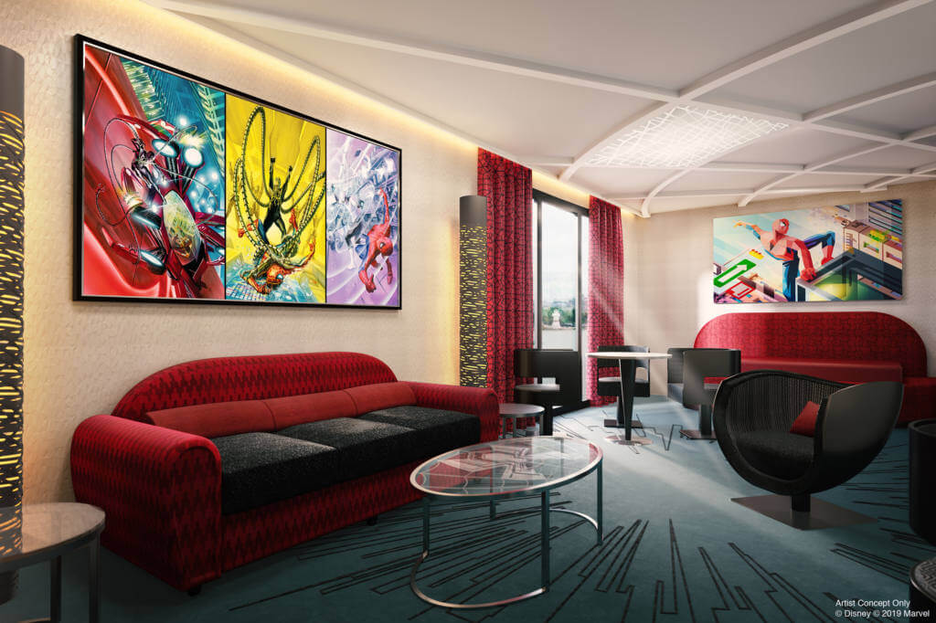 disneyland paris hotel de marvel