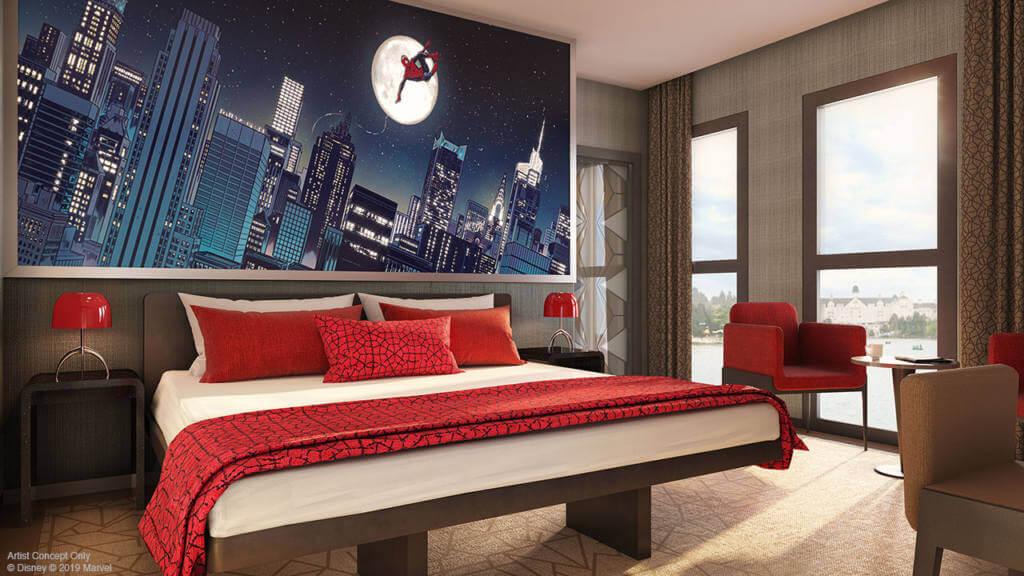 hotel art of marvel