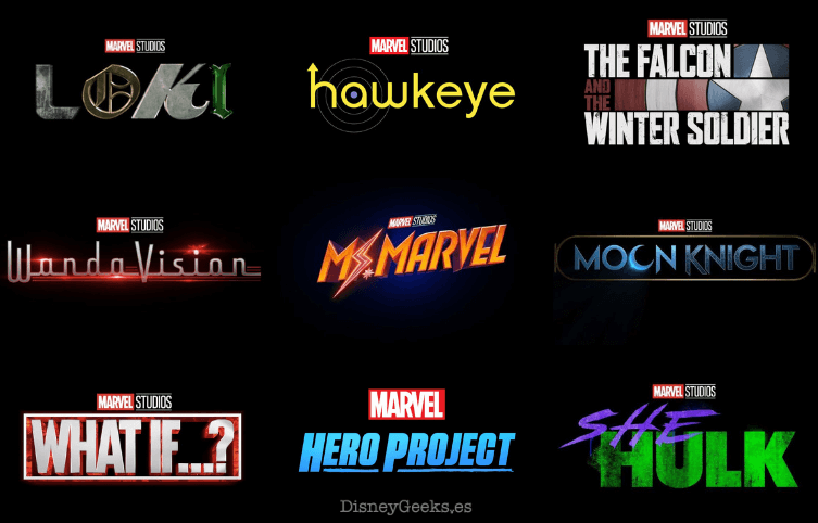 marvel series en disney plus