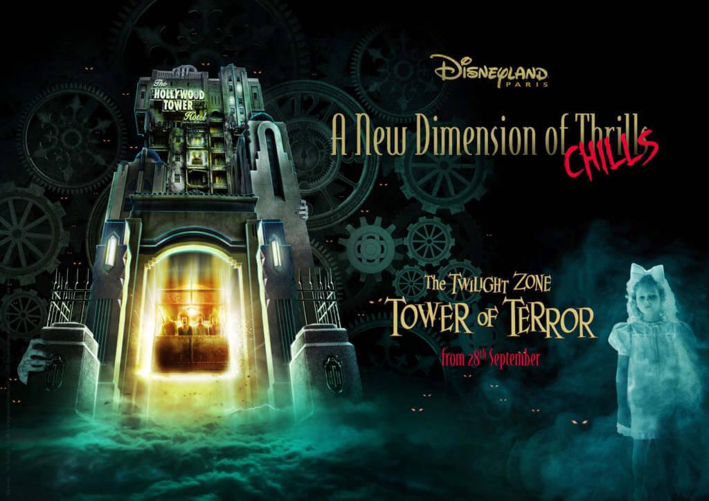 tower of terror nuevas experiencias cartel