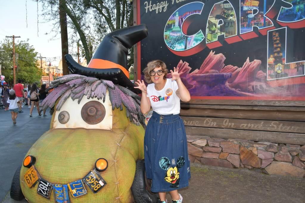 Disney California Adventure en halloween