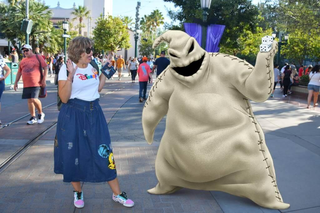 Fotos magicas en Disneyland