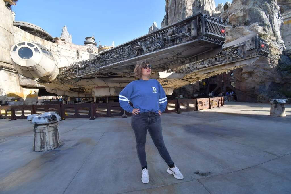 Millennium Falcon en Disneyland