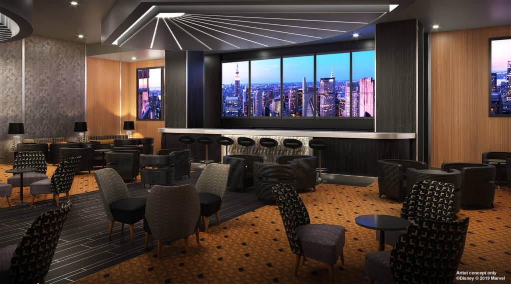 Hotel New York The Art of Marvel Skyline Bar