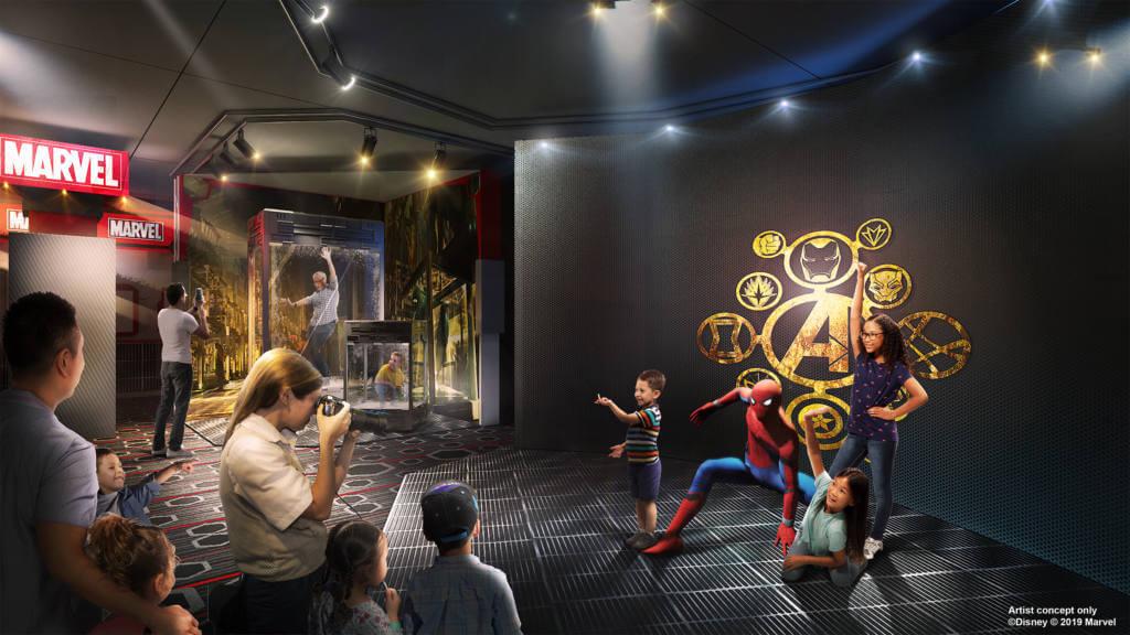 Hotel New York The Art of Marvel Super Hero Station