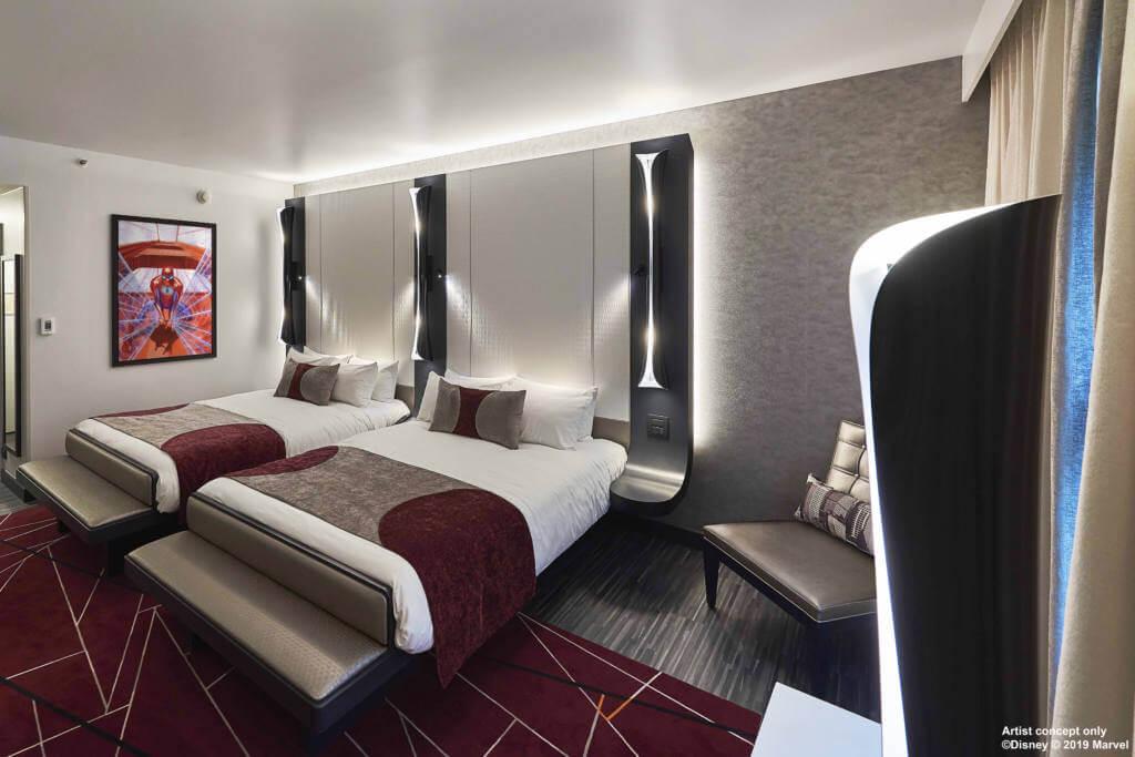 Hotel New York The Art of Marvel habitacion