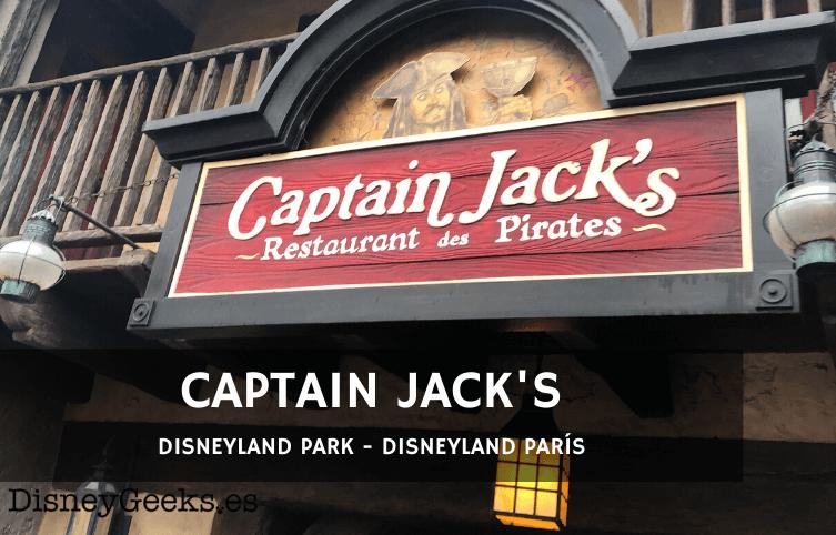 [REVIEW] Captain Jack's en Disneyland París